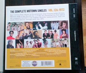 THE COMPLETE MOTOWN SINGLES 12A: 1972