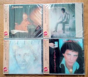 フランキー・ヴァリのソロアルバム4枚が日本初CD化
