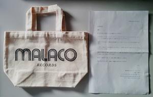 MALACO RECORDS オリジナル・トート・バッグ