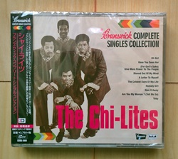 Chi Lites Brunswick Complete Singles Collection